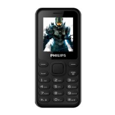 ĐTDĐ Philips E105 2 Sim (Đen) – Hãng phân phối chính thức