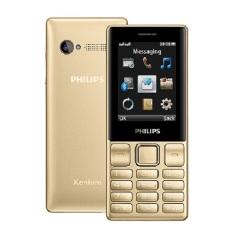 Nơi Bán ĐTDĐ Philips E170 2 SIM (Vàng) – Hãng phân phối chính thức