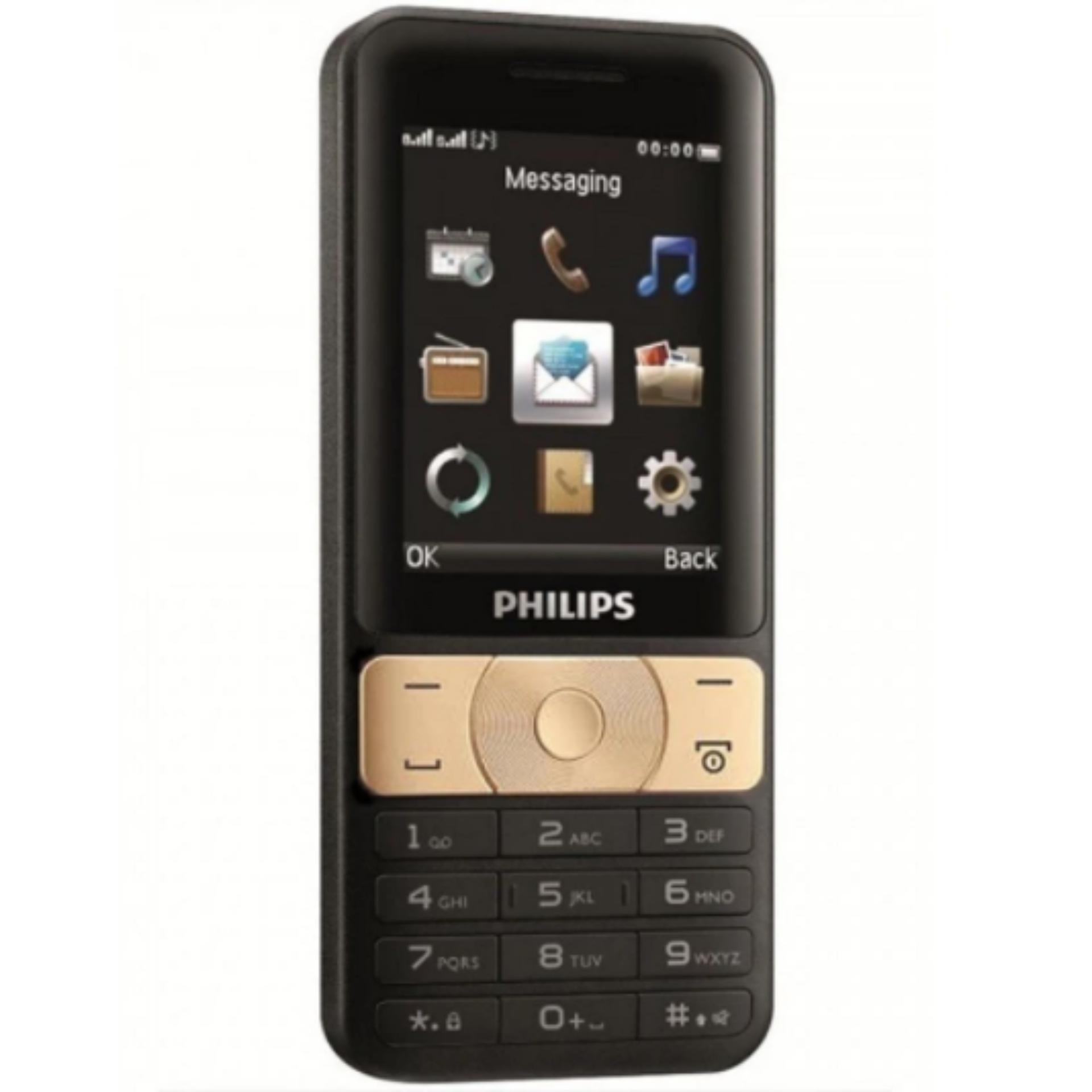 ĐTDĐ Philips E181 Đen Vàng