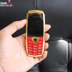 ĐTDĐ SUNTEK A10 kiêm tai nghe bluetooth (Vàng Đỏ) + Tặng bao da cao cấp trị giá 99.000