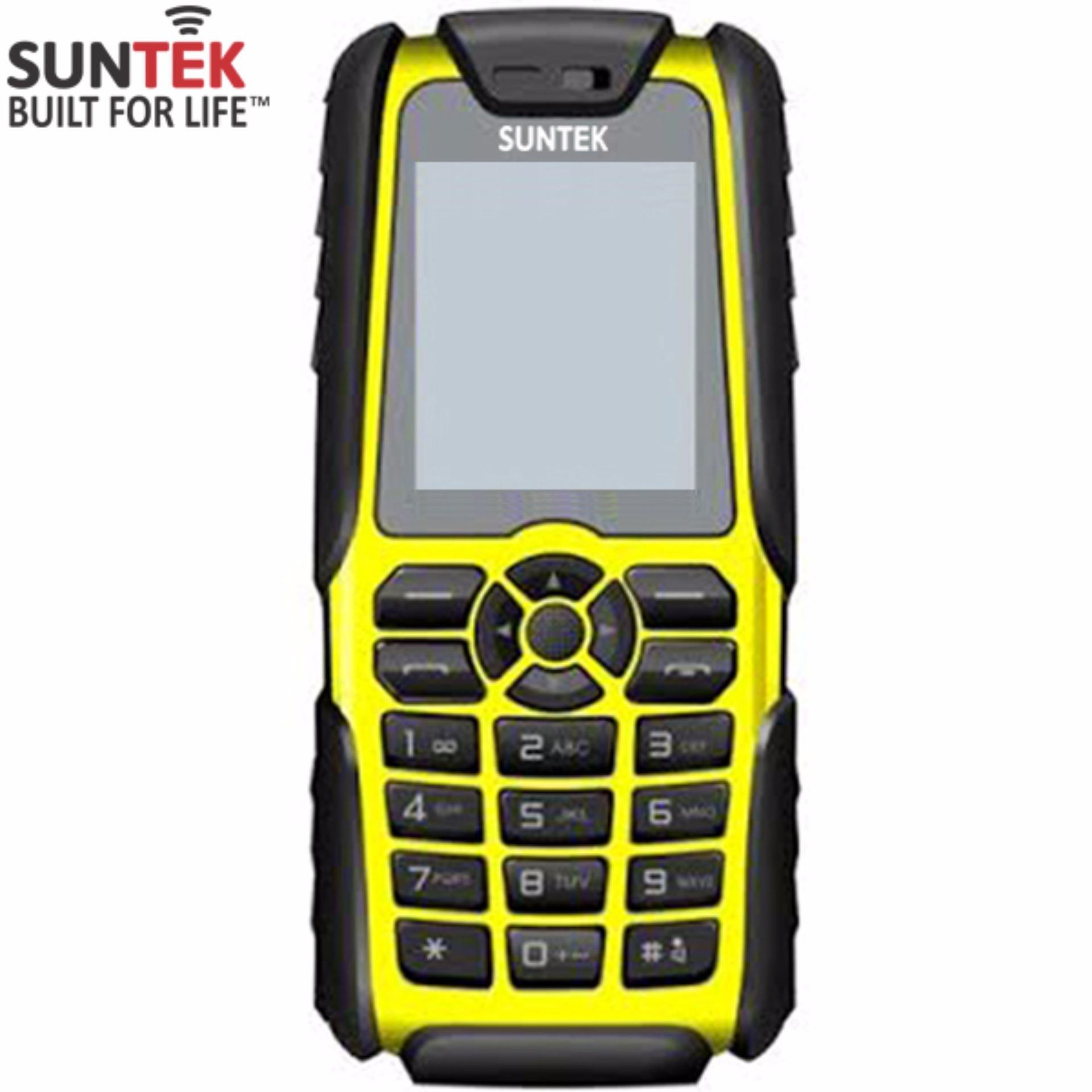 ĐTDĐ Suntek A8 Plus 2 SIM kiêm pin sạc dự phòng 18.000mAh (Vàng)-Hàng nhập khẩu