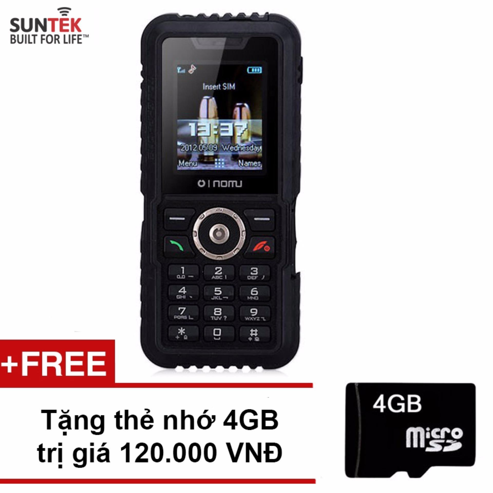 Mẫu sản phẩm ĐTDĐ Suntek NOMU S3 (Đen)