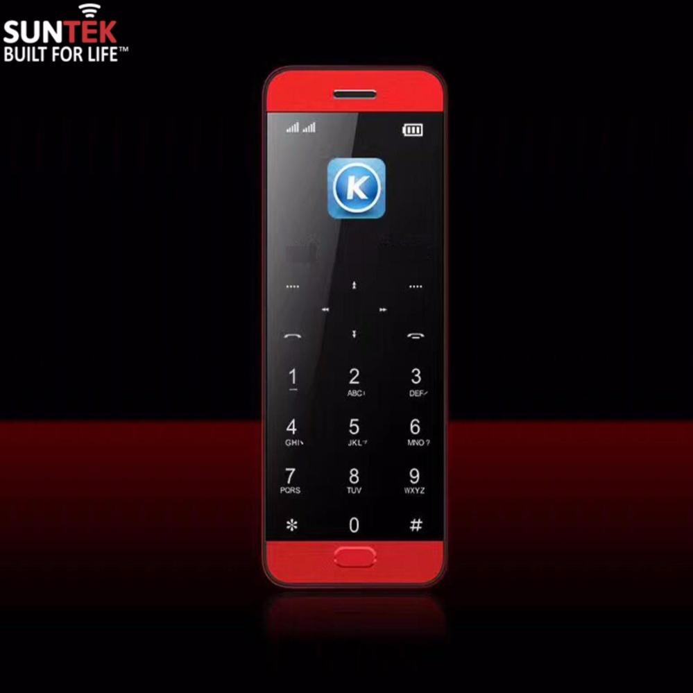 ĐTDĐ SUNTEK Vicool V10 kiêm tai nghe Bluetooth (Đỏ)