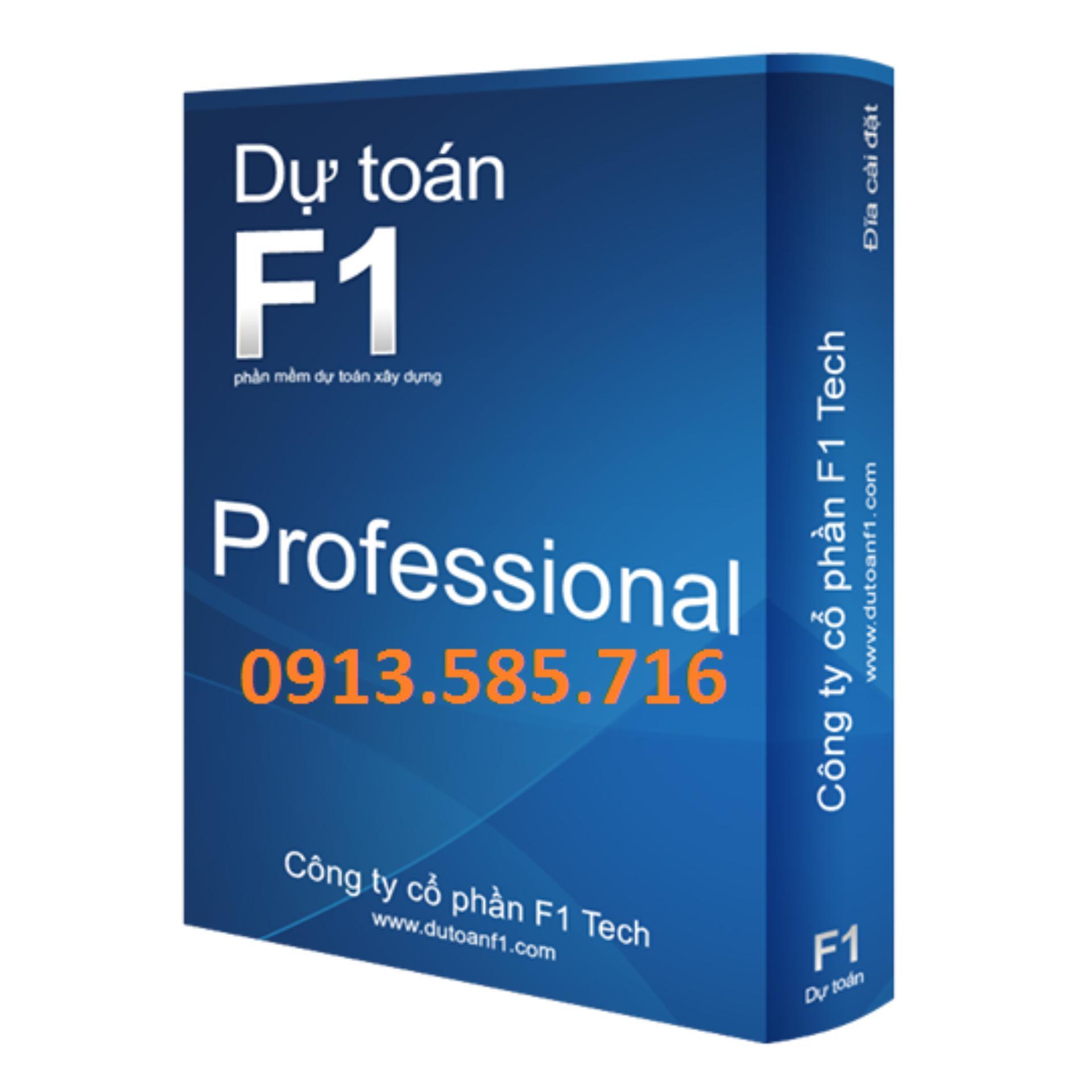 Dự toán F1-Profesional - Chuyên nghiệp