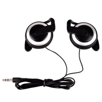 Ear-hook Headphone 3Colors Earphone Headset For Cellphone MP3Computers - intl