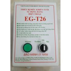 EG-T26 bộ điều khiển tưới tự động bằng điện thoại có giao diện Smartphone- công suất lớn