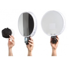 Even flash Disc diffuser with 3in1 white balance