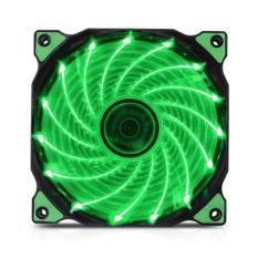 Fan Case Coolman 12cm 15 Led Green