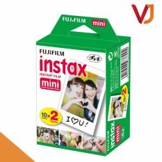 Film cho máy ảnh Fujifilm Instax Mini chính hãng (hộp 20 tấm) – độ bền lên tới 40 năm – Hãng phân phối chính thức