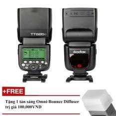 Flash Godox TT685F Cho Fujifilm – Tặng tản sáng Omni bouce