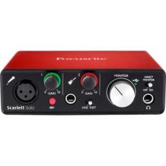 Focusrite Scarlett Solo USB Audio Interface (2nd Generation) Cực Rẻ Tại shophdvn