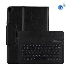 Giá sốc Dành cho iPad Pro 12.9 inch (2017) bàn Phím Bluetooth có thể tháo rời + Ngang dùng Ốp Lưng Da (Đen)-quốc tế Tại SUNSKY
