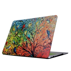 For Macbook Retina 12 inch A1534 Colorful Tree Colorful Bird Pattern Laptop Water Decals PC Protective Case – intl