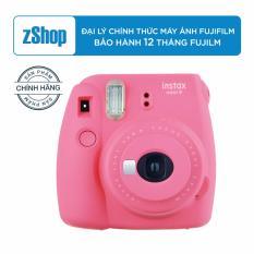 Fujifilm Instax Mini 9 – Hồng – Chính hãng