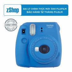 Fujifilm instax mini 9 – Xanh dương + Tặng hộp giấy in ảnh 20 tấm