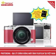 FujiFilm X-A3 KIT XC 16-50mm F3.5-5.6 OIS II (Hồng) + Tặng kèm Sách Cẩm nang sử dụng máy ảnh FujiFilm – Hãng Phân phối chính thức