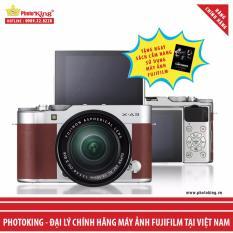FujiFilm X-A3 KIT XC 16-50mm F3.5-5.6 OIS II (Nâu) + Tặng kèm Sách Cẩm nang sử dụng máy ảnh FujiFilm – Hãng Phân phối chính thức
