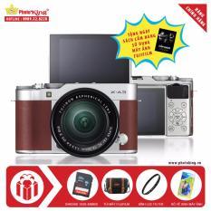 FujiFilm X-A3 KIT XC 16-50mm F3.5-5.6 OIS II (Nâu) + Tặng kèm Thẻ nhớ Sandisk 16Gb 48Mb/s (320x) + Túi Fujifilm chính hãng + 01 Kính lọc + Bộ vệ sinh + Sách Cẩm nang sử dụng máy ảnh FujiFilm – Hãng Phân phối chính thức