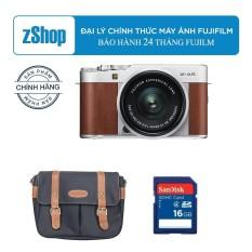 Bảng Giá Fujifilm X-A5 + kit 15-45mm f3.5-5.6 OIS PZ (Brown) – Chính hãng + Tặng thẻ 16GB + Túi Fujifilm
