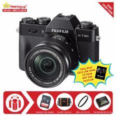 Fujifilm X-T20 KIT XC 16-50mm OIS II (Đen) + Tặng kèm Thẻ nhớ Sandisk 32Gb 48Mb/s (320x) + Túi FujiFilm chính hãng + Kính lọc Filter + Pin Wasabi NP-W126 + Sách Cẩm nang sử dụng máy ảnh FujiFilm – Hãng phân phối chính thức