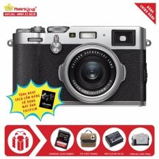FujiFilm X100F (Bạc) + Tặng kèm Thẻ nhớ Sandisk Extreme Pro 32Gb 95Mb/s (633x) + Túi thời trang + Thêm 01 pin NP-W126 + Halfcase chính hãng + Sách Cẩm nang sử dụng máy ảnh FujiFilm – Hãng phân phối chính thức