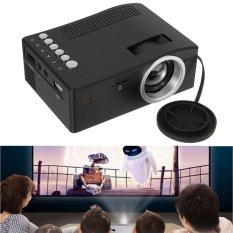 Full HD 1080 p Rạp Hát Tại Nhà ĐÈN LED Mini Máy Chiếu Đa Phương Tiện Điện Ảnh USB TV HDMI MT-quốc tế