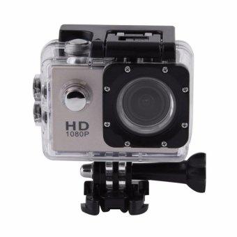 Full HD SJ4000 1080P 12MP Car Cam Sports DV Action WaterproofCamera Camcorder Golden - intl