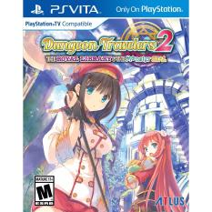 Game card Dungeon Travelers 2: The Royal Library & the Monster Seal PSVITA
