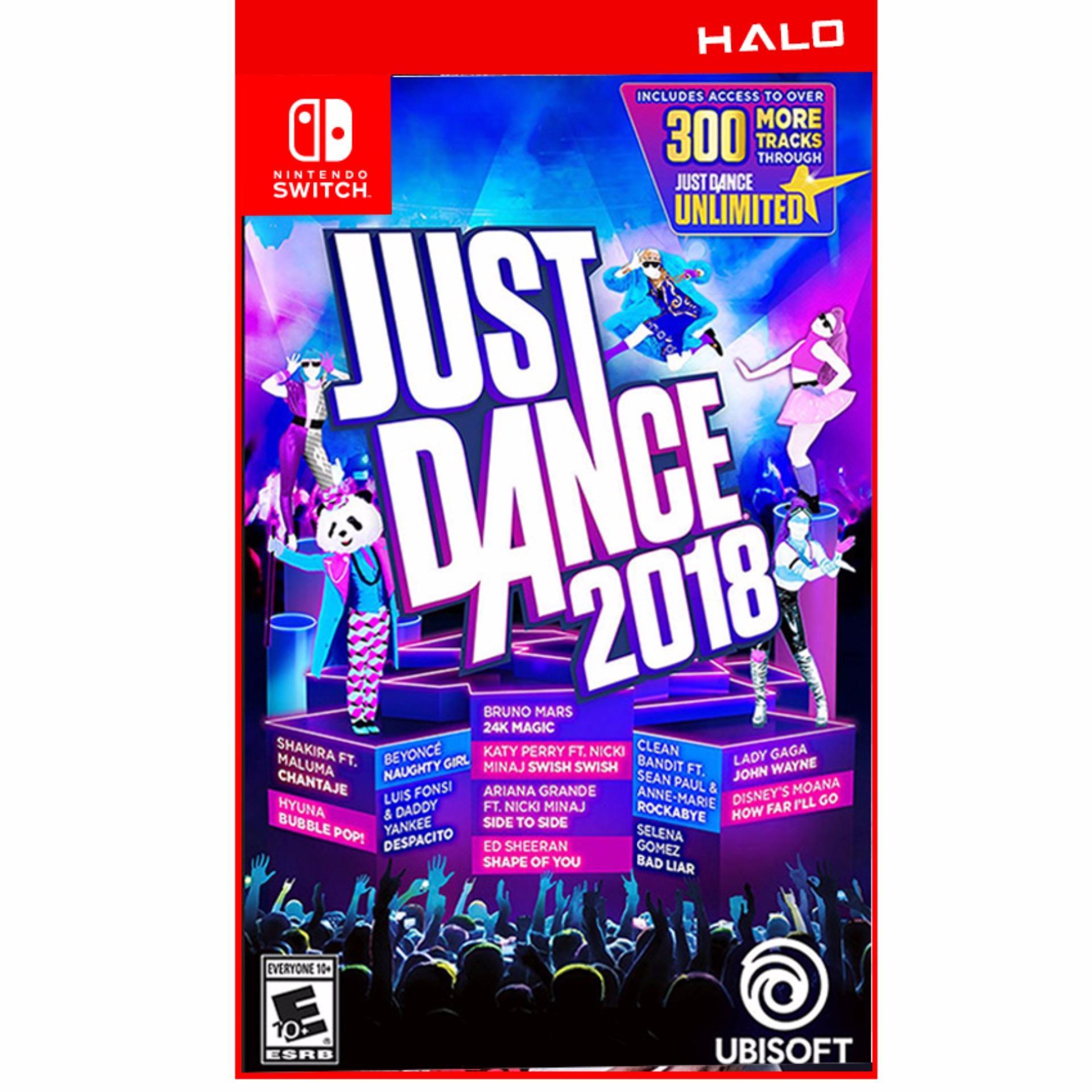 Game Nintendo Switch Just Dance 2018 – Phiên bản US