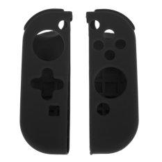 Tay cầm chơi game Bảo Vệ Ốp Lưng Silicone Dành Cho Máy Nintendo Chơi Game Switch (Đen)-quốc tế