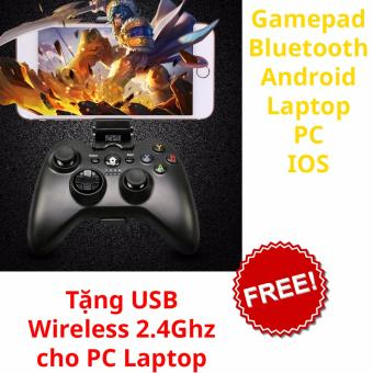 Gamepad wifi + bluetooth đa năng cho PC, Android, Android box H9