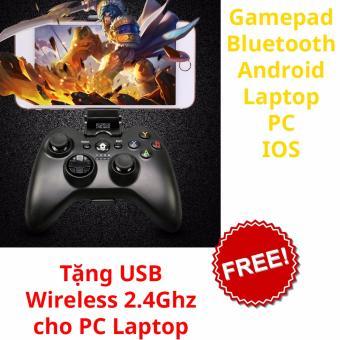 Gamepad wifi + bluetooth đa năng cho PC, Android, Android box H9