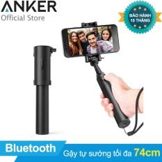 Gậy chụp ảnh tự sướng ANKER Bluetooth Selfie Stick (Đen) – Hãng phân phối chính thức
