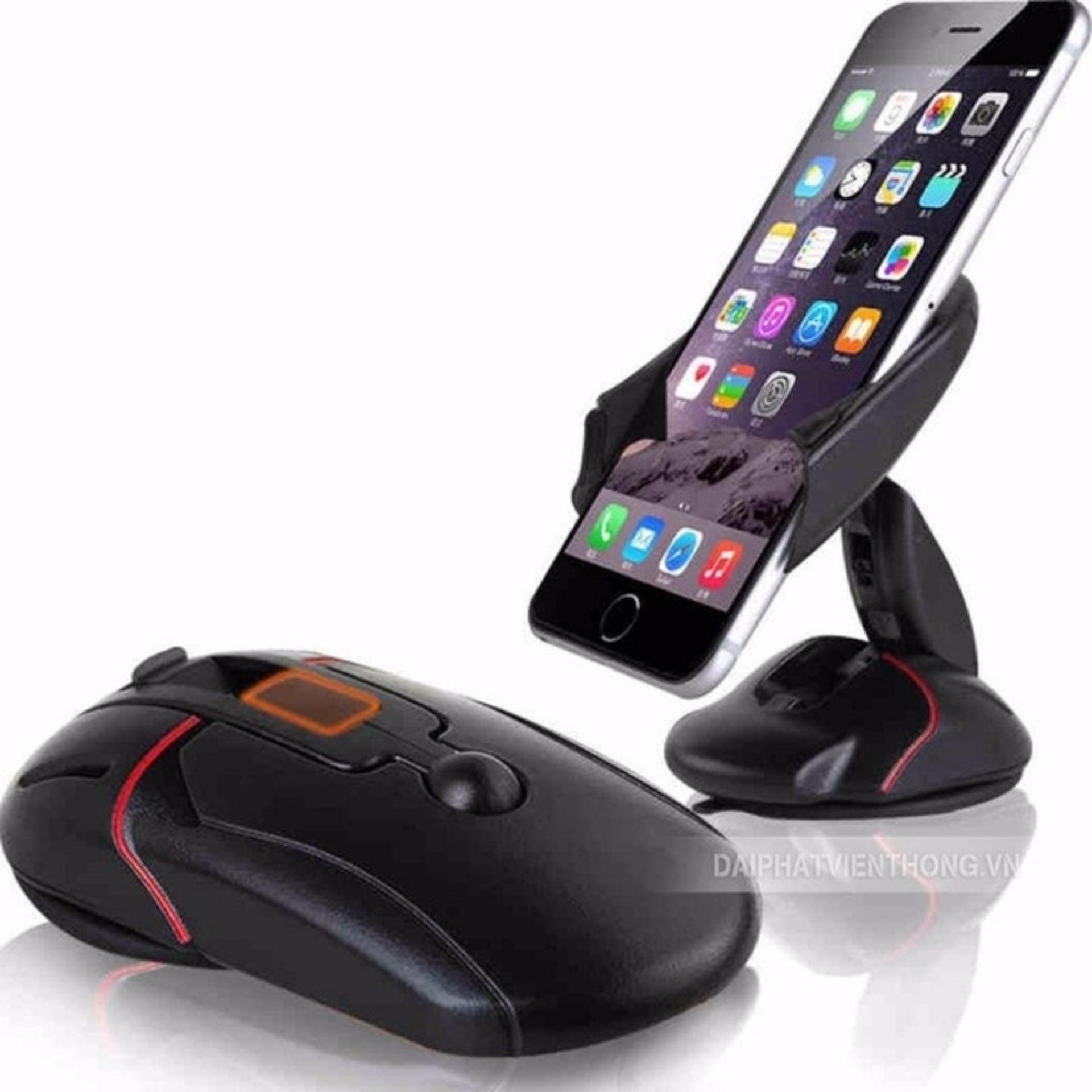 Giá đỡ điện thoại trên ô tô hình chuột