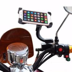Giá đỡ điện thoại trên xe máy CH-01 (Đen)
