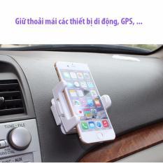 Giá đỡ điện thoại trên xe ô tô – Trắng