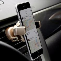 Giá đở, kẹp điện thoại trên xe hơi xoay 360 độ
