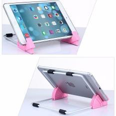 Giá đỡ máy tính bảng nghiêng 40-70 độ TL02 (màu hồng)