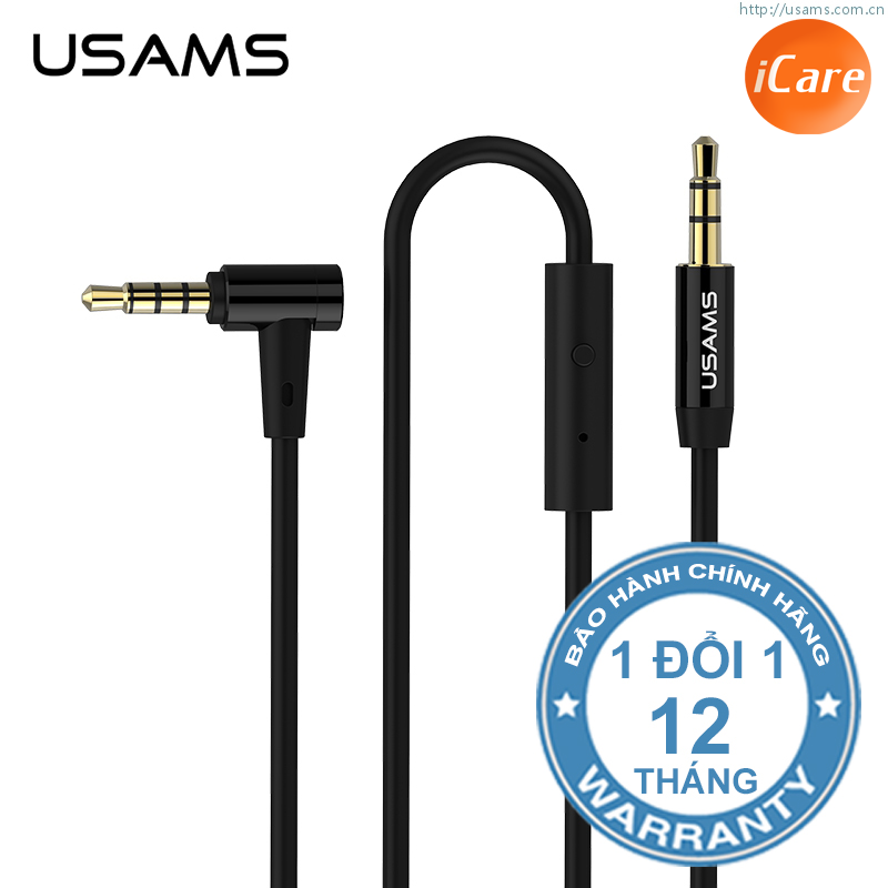 Giắc nối 3.5 mm Usams 18K