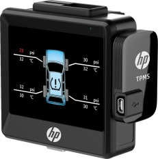 Giám sát áp suất lốp xe HP T10 Black – Tích hợp HP F550G – Hãng phân phối chính thức