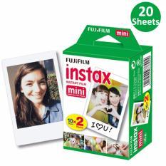 Giấy In Ảnh Cho Máy Ảnh Fujifilm Instax Mini 20 Film