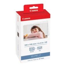 (SP BÁN CHẠY )Giấy và Mực in ảnh nhiệt Canon KP108 dùng cho(CP 900 , CP 910 CP1000, CP1200, CP1300)