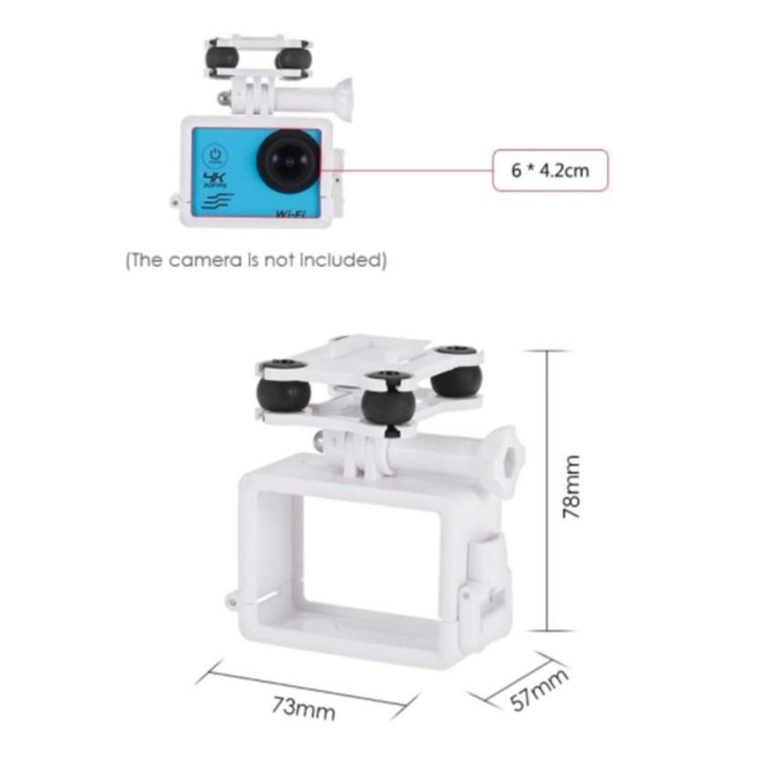 Gimbal gắn camera thể thao cho máy bay Syma X8C, x8 pro, x8sw, x8hw, x8hg