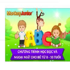 Báo Giá Gói toàn bộ các ngôn ngữ Monkey Junior 3 cấp độ