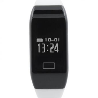 H3 Bluetooth 4.0 Heart Rate Smart Watch (White) - Intl - intl