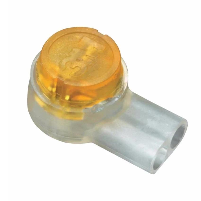Hình ảnh Hạt rệp nối dây điện thoại hoặc dây mạng (1 gói 100 hạt)