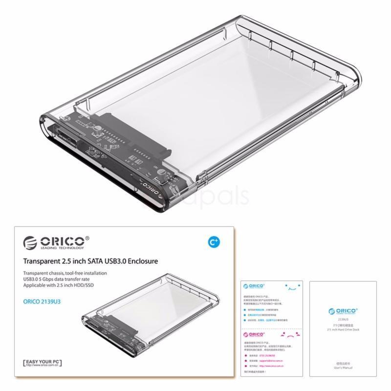 Bảng giá HDD Box Orico 2139U3 tốc độ 3.0, 2.5inch Phong Vũ