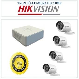 Hệ Thống Camera Giám Sát 4 Camera 2.0 Hikvision