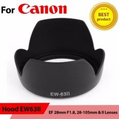 Hood EW63II for Canon EF 28mm F1.8, 28-105mm & II Lenses