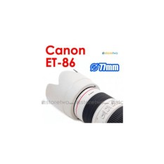 Hood for canon ET-86 white